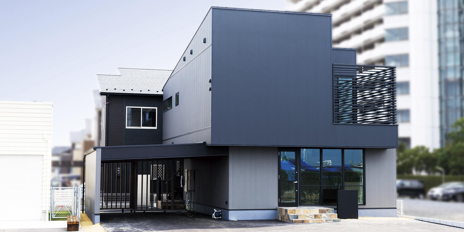 自由設計の家